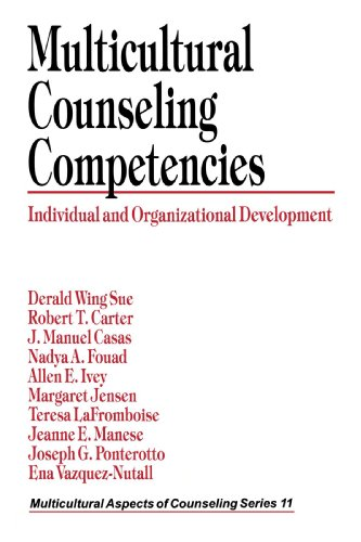 Multicultural Counseling Competencies Individual and Organizational Development  1998 edition cover