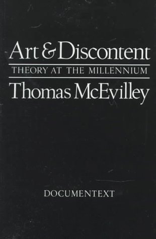 Art and Discontent Theory at the Millennium  1993 edition cover