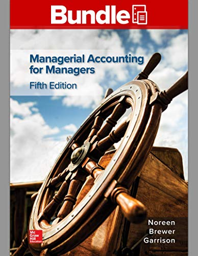 MANAGERIAL ACCOUNTING F/..(LL)-W/ACCESS N/A 9781260696318 Front Cover