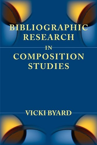 Bibliographic Research in Composition Studies  2009 edition cover