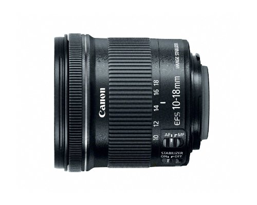 Canon EF-S 10-18mm f/4.5-5.6 IS STM Lens product image