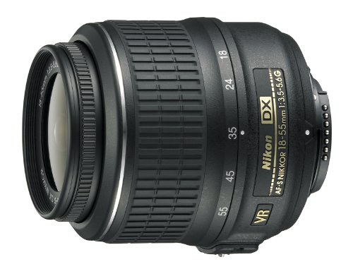 Nikon AF-S DX NIKKOR 18-55mm f/3.5-5.6G Vibration Reduction Zoom Lens with Auto Focus for Nikon DSLR Cameras product image