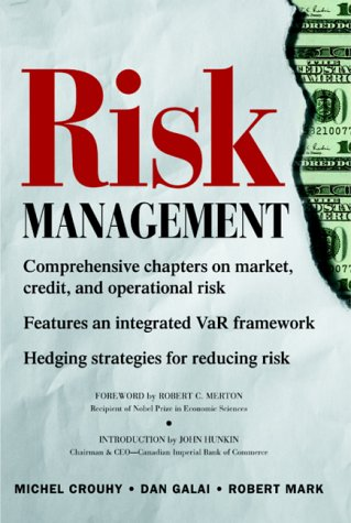 Risk Management   2001 9780071357319 Front Cover