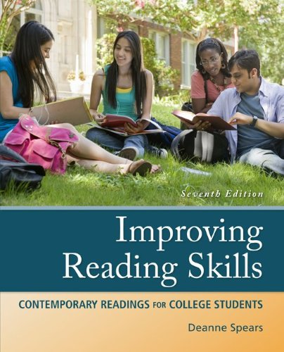 Improving Reading Skills  7th 2013 edition cover
