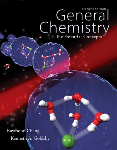 General Chemistry: The Essential Concepts, With Solutions  2013 edition cover