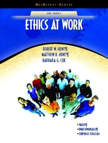 Ethics at Work   2005 edition cover