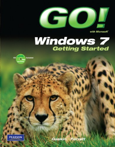 Go! - Windows 7 Getting Started   2011 edition cover