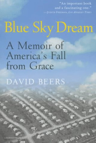 Blue Sky Dream A Memoir of America's Fall from Grace  1997 edition cover