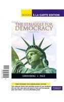 Struggle for Democracy, the, Books a la Carte Edition  10th 2011 edition cover