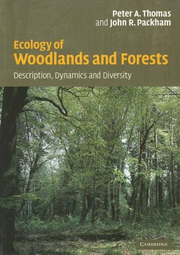 Ecology of Woodlands and Forests Description, Dynamics and Diversity  2007 9780521542319 Front Cover