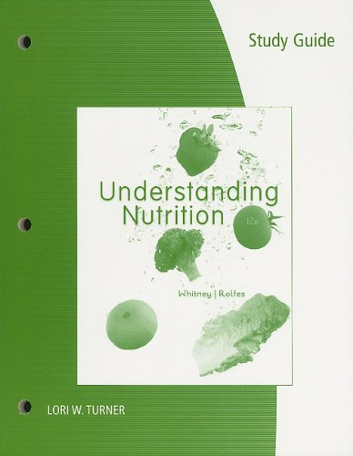Understanding Nutrition  12th 2011 (Guide (Pupil's)) 9780538737319 Front Cover