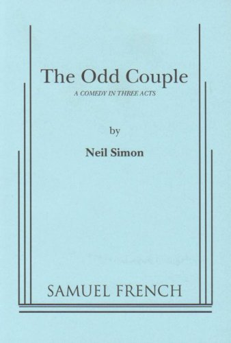 Odd Couple:   1994 edition cover