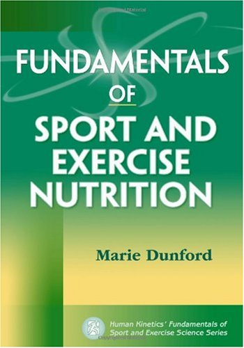 Fundamentals of Sport and Exercise Nutrition   2010 edition cover