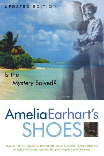 Amelia Earhart's Shoes Is the Mystery Solved?  2004 edition cover