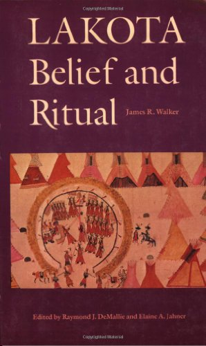 Lakota Belief and Ritual  Reprint  edition cover