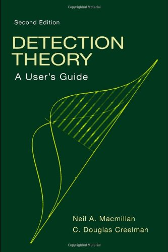 Detection Theory  2nd 2004 (Revised) edition cover