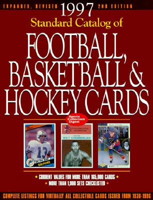Standard Catalog of Football, Basketball and Hockey Cards 2nd 9780873414319 Front Cover
