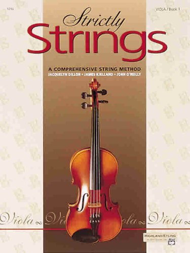 Strictly Strings, Bk 1 Viola  1992 edition cover