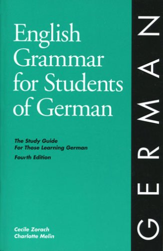 English Grammar for Students of German A Study Guide for Those Studying German 4th 2001 edition cover