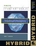 Finite Mathematics, Hybrid (with Enhanced WebAssign with EBook LOE Printed Access Card for One-Term Math and Science)  6th 2014 edition cover