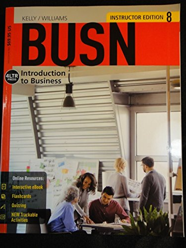 BUSN 8  ->INSTRS.ED<                    N/A 9781285775319 Front Cover