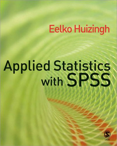 Applied Statistics with SPSS   2007 edition cover