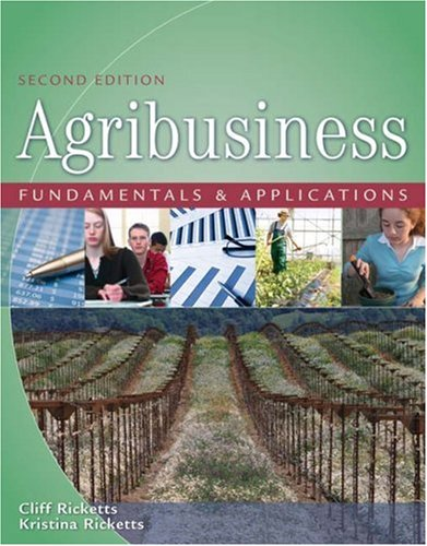 Agribusiness Fundamentals and Applications  2nd 2009 (Revised) edition cover