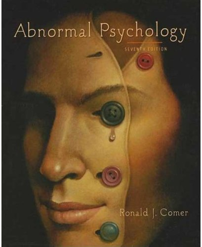 Abnormal Psychology  7th 2010 edition cover