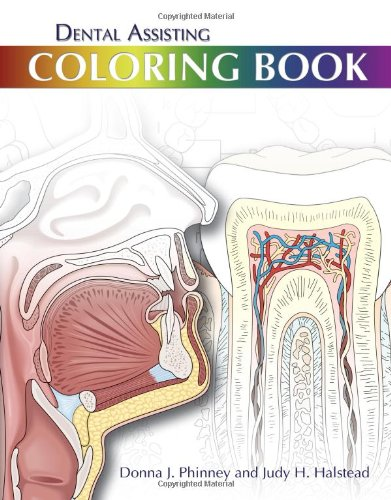 Dental Assisting Coloring Book   2011 edition cover
