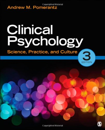 Clinical Psychology Science, Practice, and Culture 3rd 2013 edition cover