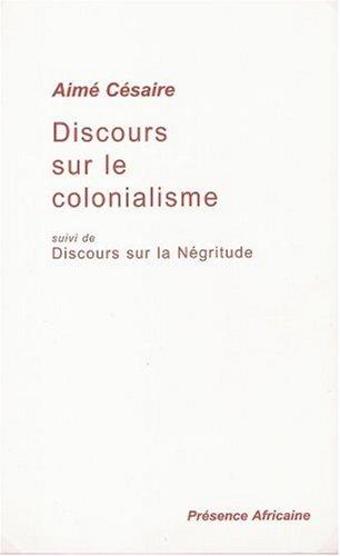 Discours Sur Le Colonialisme 1st 2000 edition cover