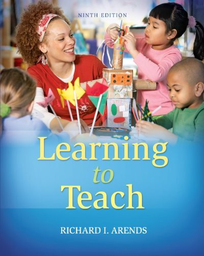 Learning to Teach  9th 2012 edition cover