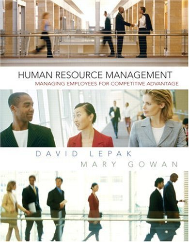 Human Resource Management   2009 edition cover