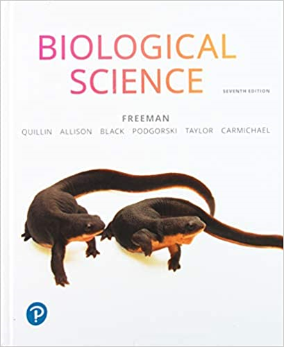 Biological Science:   2019 9780134678320 Front Cover