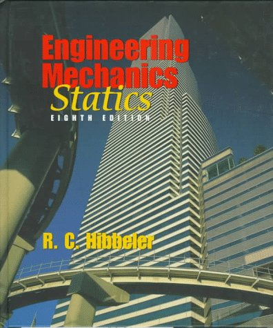 Engineering Mechanics Statics 8th 1998 edition cover