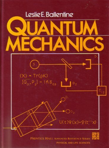 Quantum Mechanics  1990 9780137479320 Front Cover