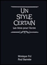 Style Certain  2nd 1991 edition cover