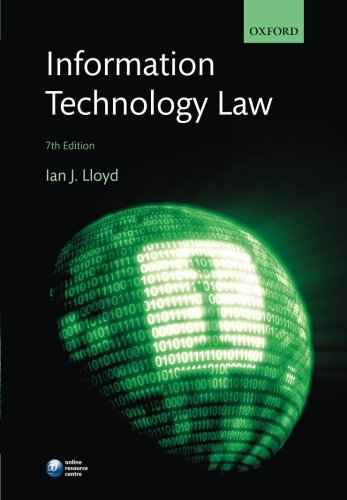 Information Technology Law  7th 2014 edition cover
