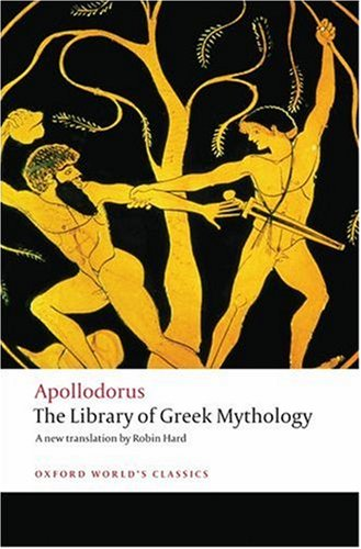 Library of Greek Mythology   2008 9780199536320 Front Cover
