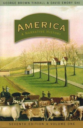 America A Narrative History 7th 2007 edition cover
