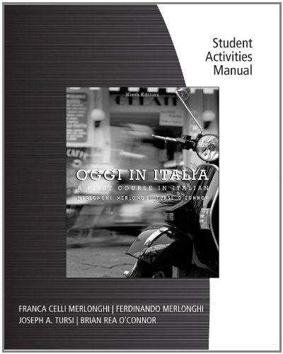 Oggi in Italia  9th 2012 edition cover