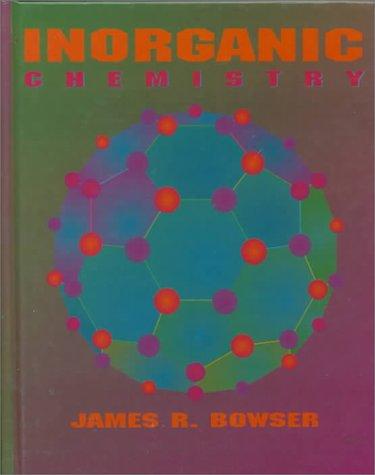 Inorganic Chemistry 1st edition cover