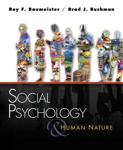Social Psychology and Human Nature   2008 edition cover