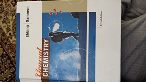 General Chemistry with Technology Package and Study Guide, Seventh Edition 7th 2002 9780618213320 Front Cover
