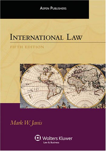 International Law  5th 2008 (Student Manual, Study Guide, etc.) edition cover
