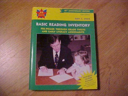 Basic Reading Inventory Pre-Primer Through Grade Twelve and Early Literacy Assessments 8th 2001 (Revised) edition cover