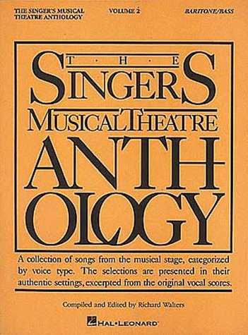 Singer's Musical Theatre Anthology Baritone - Bass N/A edition cover