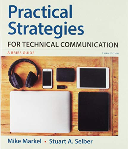 Practical Strategies for Technical Communication  3rd 2019 9781319104320 Front Cover