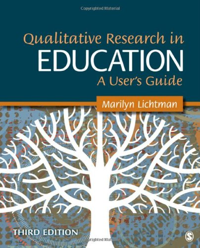 Qualitative Research in Education A User's Guide 3rd 2013 edition cover