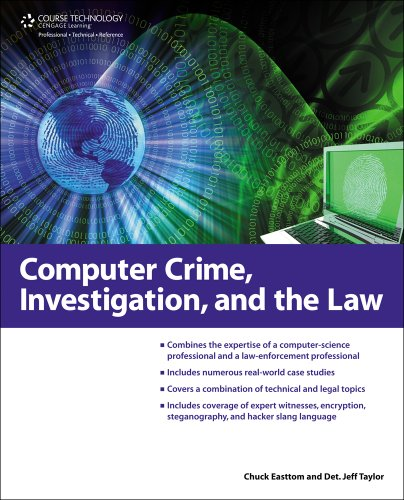 Computer Crime, Investigation, and the Law   2011 edition cover